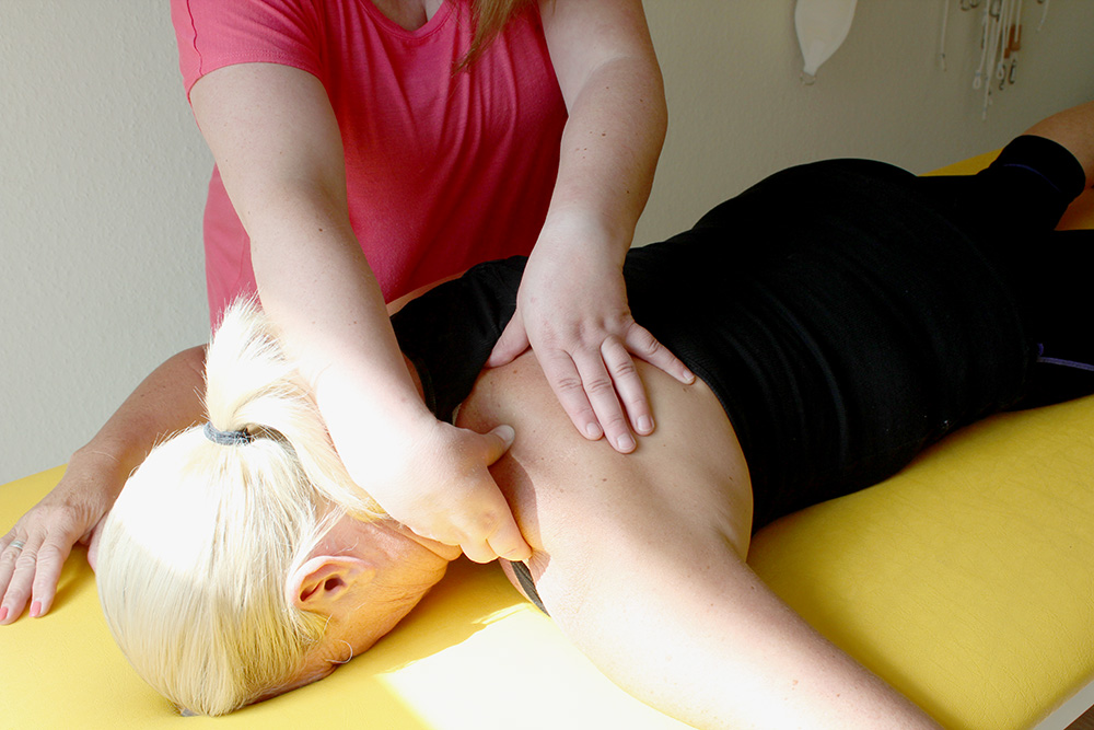 Massage Schulter